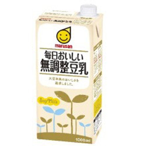 Marsan eye every day delicious adjustment-free soy milk 1000ml paper pack X12 (6X2) this entry by Marsan eye