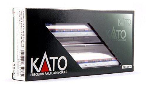 Set Amfleet Passenger - Kato USA Model Train Products N Amfleet I Coach Amtrak Phase I Set Train A 2-Car Set