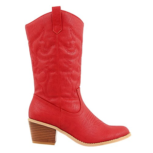 Ladies Cowboy Boots - 8