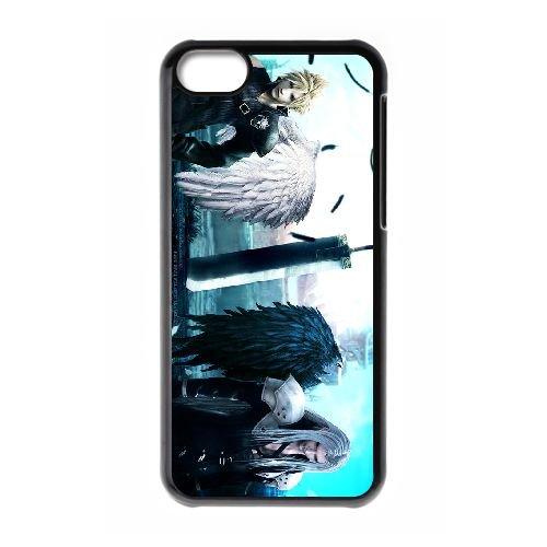 Final Fantasy 025 coque iPhone 5C Housse téléphone Noir de couverture de cas coque EOKXLLNCD10762