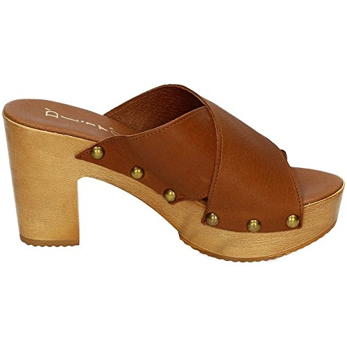 Cuir Dliro sandales femme Dliro femme Dliro Cuir sandales 0FFdq