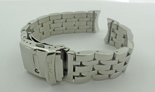 Joe Rodeo Classic 20mm silver color stainless steel Band.