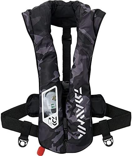 ダイワ ウォッシャブルライフジャケット(肩掛けタイプ手動・自動膨脹式) フリー DF-2021の画像