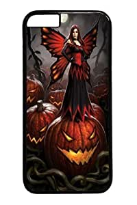 Halloween Fairy PC For Apple Iphone 5C Case Cover inch Black