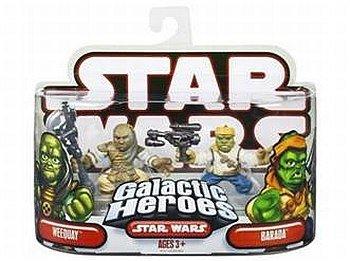 - Star Wars Galactic Heroes Weequay and Barada