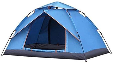 LFDHSF Tienda de Domo para 2-4 Personas para Acampar, Tiendas de campaña Familiares, Doble Capa con setu fácil: Amazon.es: Hogar
