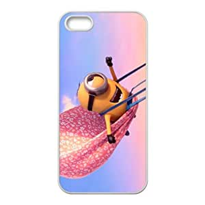 Happy Minions Case Cover For iPhone 5S Case