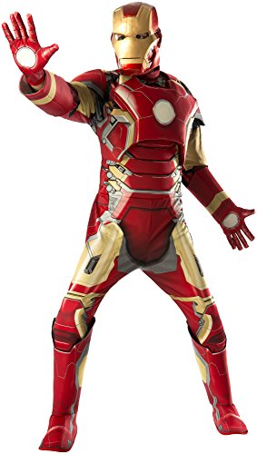 Rubie's Costume Co Men's Avengers 2 Age Of Ultron, Multi, X-Large (Tony Stark Halloween Costume)