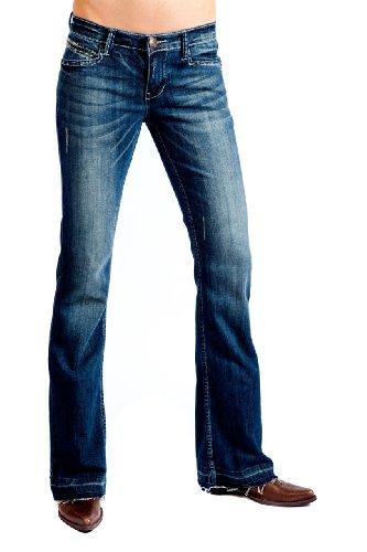Lawman Western Jeans (Petrol Jeans - Avery (Size 10 x 32L))