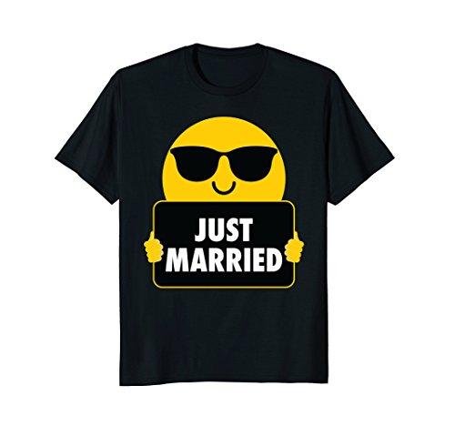 Just Married Sunglasses Shirt T-Shirt - Sunglasses Just Married