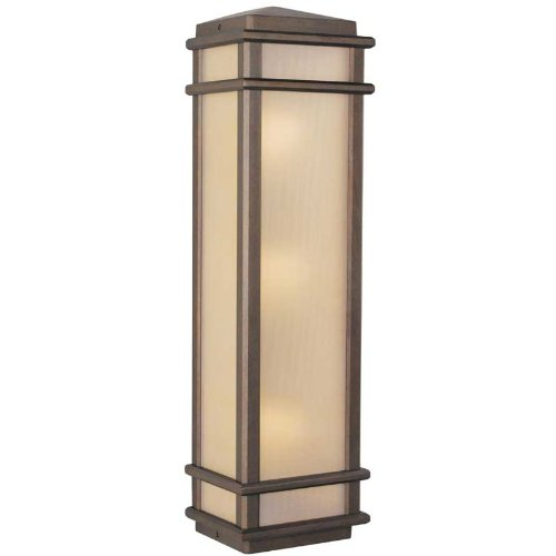 Murray Feiss MF OL3404 3 Light Outdoor Wall Sconce from the Monterey Coast Colle, Corinthian Bronze