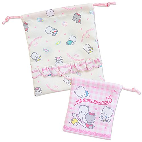 Famous 80s Characters Costumes (Sanrio Nyanyi New Wells Avignon purse set '80s character From Japan New)