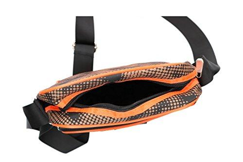 Umgehängt Man Romeo Gigli Orange Bag Multiple Vf162