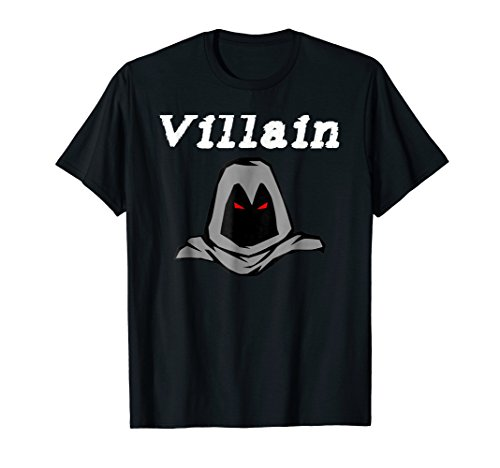 Comic Book Villain T-Shirt Gift Idea for Graphic Novel Fan -