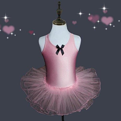 7455bbffd Yuxing Kids Girls Cute Leotards Ballet Bodysuit Dancewear Birthday ...