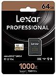Lexar Professional 1000x 64GB microSDXC...