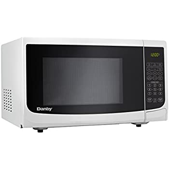 Amazon Com Danby 0 7 Cu Ft Countertop Microwave White