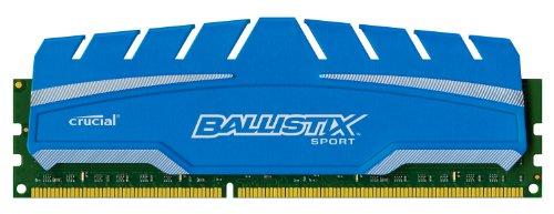 Ballistix BLS4K4G3D18ADS3 Sport XT 16GB Kit 4GBx4 DDR3 1866 MT/s PC3-14900 CL10 at 1.5V UDIMM 240-Pin Memory