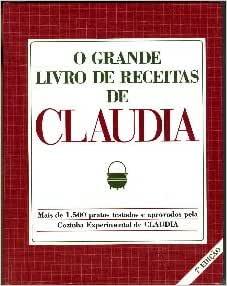 Grande Livro De Receitas De Claudia, O - 9788587710413