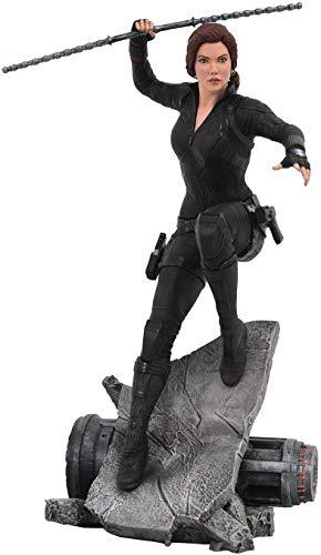 41nWk5tGJeL DIAMOND SELECT TOYS Marvel Premier Collection: Avengers Endgame Black Widow Statue, Multicolor