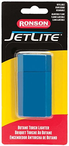 Ronson Jetlite Butane Torch Lighter (Blue)