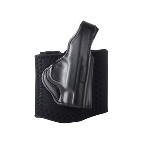 Desantis 014PC1CZ0 Die Hard Ankle Rig fits SIG P238 C and L, Right, Black Color (Best Ankle Holster Sig P238)