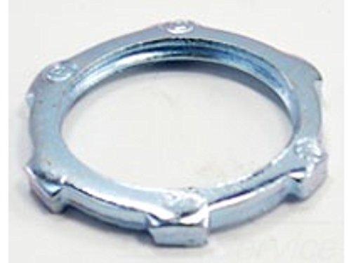 (Bridgeport 102-S 3/4 In. Steel Locknut For Rigid/Imc Conduit, Pack of 100)