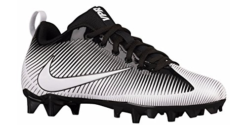 Nike Men's Vapor Strike 5 TD Football Cleat Black/White Size 7.5 M US