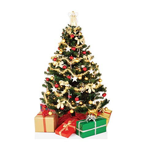 - Advanced Graphics Christmas Tree Life Size Cardboard Cutout Standup