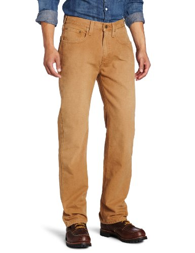 Carhartt Men's Weathered Duck 5 Pocket Pant Relaxed Fit,Carhartt Brown,46 x (Carhartt Relaxed Fit Work Pants)