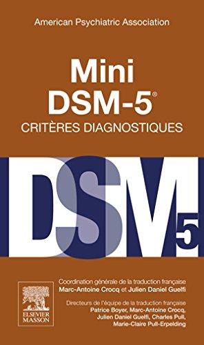 Mini DSM-5 Critères Diagnostiques French Edition
