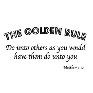 Golden rule of christian dating