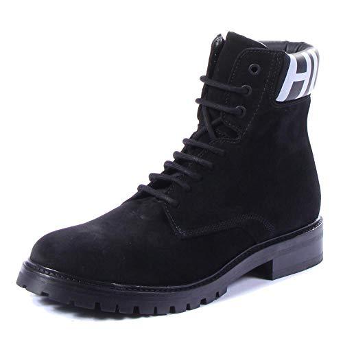 Hugo Boss Explore_Halb_wxsd Shoes 8 M US Men Black (Hugo Boss Shoes Boots)