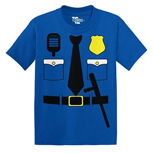 Cop Costume Toddler/Infant T-Shirt (Royal Blue, 24 Months) -