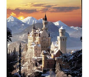 Neushwanstein Castle Jigsaw Puzzle 1500pc