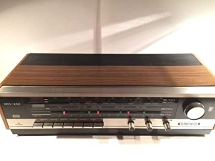 GRUNDIG RTV 340U World Band Vintage Receiver Retro Germany