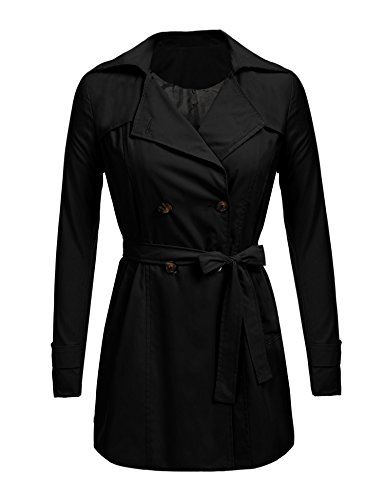 Lightweight Belted Trench Coat - 5