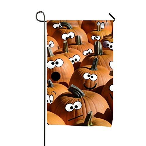(WilBstrn Halloween Pumpkin Garden Flag Home Decorative Outdoor Double)