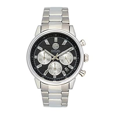 "Michael Zweig ""IVth Dimension SL"" Stainless Steel Band Chronograph Watch"