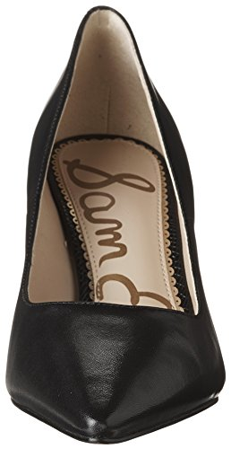 Schwarz Sam UK Black Damen Leather Pump Tristan 12 Edelman Dress Nappa Lea 7frqIf