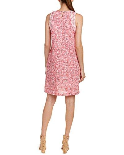 J Linen Dress L Womens Mclaughlin Shift Pink Ogv7Ofq