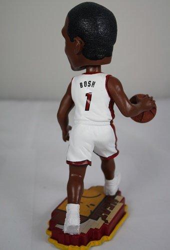 FOCO Miami Heat Bosh C. #1 Court Base Bobble Home