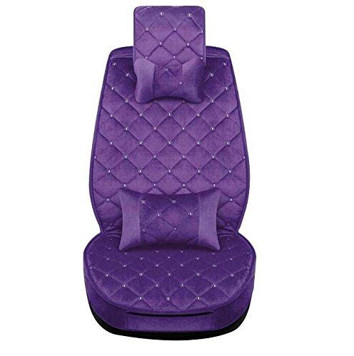 GOUGOU Car plush cushion / all-inclusive car mat / universal five cushion by YANQI