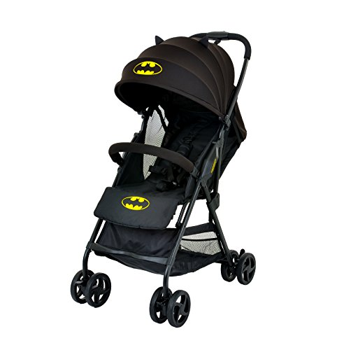 KidsEmbrace DC Comics Batman Compact Stroller, Black Canopy by Kids Embrace