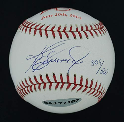 Autographed Ken Griffey Jr. Baseball - MINT 2004 OAL LE #309 500 500th Home Run - Upper Deck Certified ()