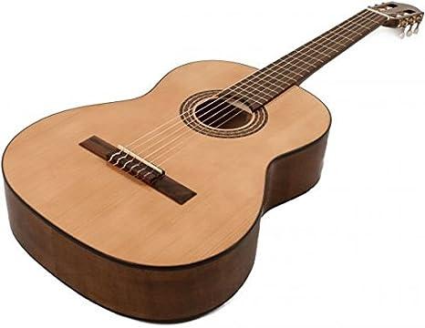 Hora madera maciza hecho a mano estilo español guitarra clásica 4 ...