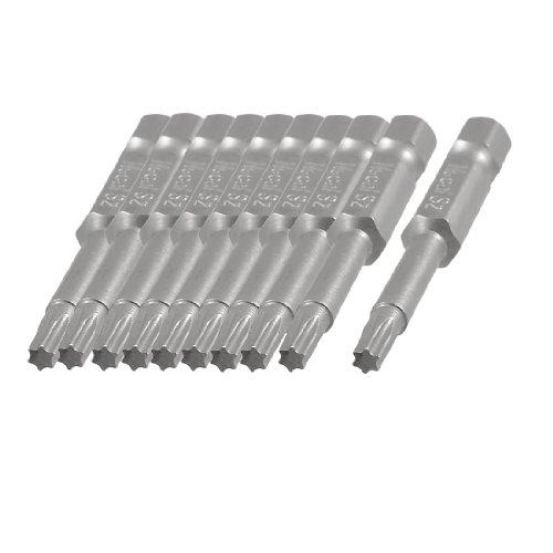 T15 Replacement Torx Bit - uxcell® 10 Pcs 1/4