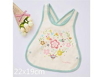 XDXDWEWERT Toalla para bebés pequeños Toalla Baberos para bebés Babero Drool Apto para niños de 0 a 3 años (Morado) (Color : As Shown): Amazon.es: Hogar