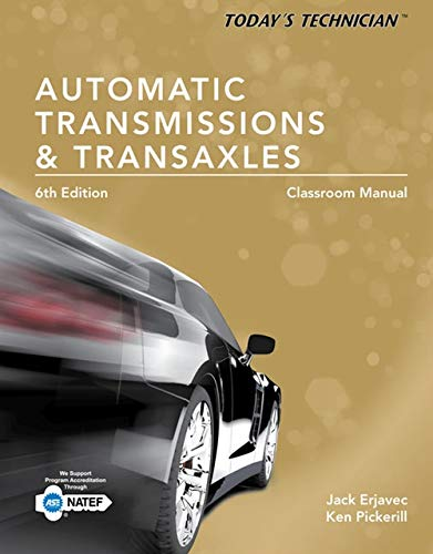 [Read] Today's Technician: Automatic Transmissions and Transaxles Classroom Manual and Shop Manual TXT