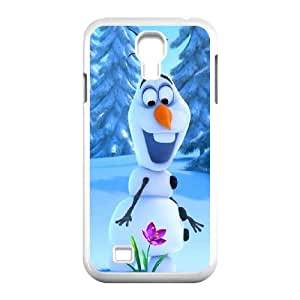 Frozen Fever Snow Man Productive Back Phone Case For SamSung Galaxy S4 Case -Pattern-20